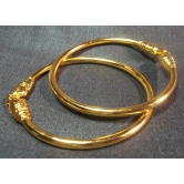 Golden Elephant Bangles