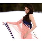 Heropanti Actress Kriti Sanon In Peach Saree