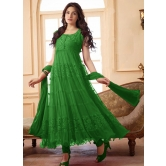 Styles Closet Designer Green Anarkali Suit