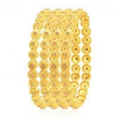 Sukkhi Finely Lct Stone Gold Plated Ad Bangle For Women