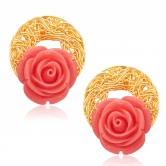 Sukkhi Classic Gold Plated Earrings For Women 6167egldpi350