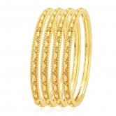 Sukkhi Beguiling Lct Stone Gold Plated Ad Bangle For Women