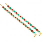 Sukkhi Sublime Gold Plated Anklet For Women