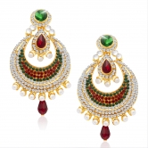 Craftsvilla Glamorous Gold Plated Ad Earring For Women