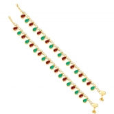 Craftsvilla Astonish Gold Plated Anklet For Women
