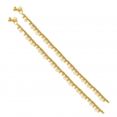 Sukkhi Brilliant Gold Plated Anklet For Women