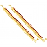 Sukkhi Fascinating Gold Plated Anklet For Women