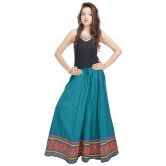 Rajasthani Full Length Blue Skirt