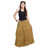 Fashionable Ethnic Cotton Short Skirt
