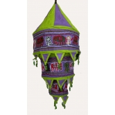 Indian Designer Hand Made Cotton Hanging Lampe Shad