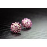 Amit Rajput's 18k Gold Plated Earring Studded With Austrian Crystals