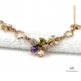 Amit Rajput's 18k Gold Plated Necklace Studded With Austrian Crystals