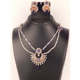 Indian Bollywood Handcrafted Polka Fashion Necklace Set