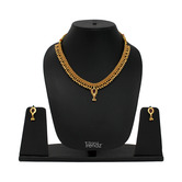 Womens Trendz Necklace And Earrings Set