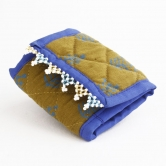 One Chain Wallet-blue, Mehndi Green