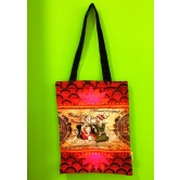 Indian King & Queen Cotton Bag - Online Shopping For Tote Bags By Eco Corner