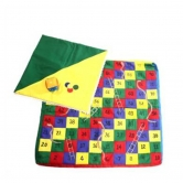 Snakes And Ladder Cushion Cover - Kriti Handicrafts