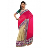 Triveni Indian Ethnic Evoking Dual Colored Border Worked Saree - Silk Sarees By Trivenisarees