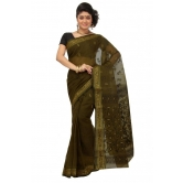 Triveni Green Cotton Printed Without Blouse Saree Tsmrtc2086 - Cotton Sarees By Trivenisarees