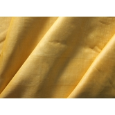 Tussar-tussar Soft Yellow (lemon) Pure Silk Unstitched Dress Material- Tana Bana
