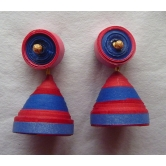 Paper Jhumka- With Stud