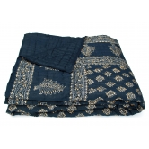 Unique World Famous Jaipuri Hand Made Block Print  Double Bed Quilts Srl2004