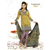 100% Cotton Unstitched Salwar Suit Dress Material Churidar Kameez 6028