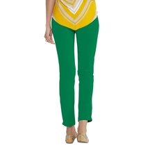 Go Colors-emerald Green-tall Knitted Pants