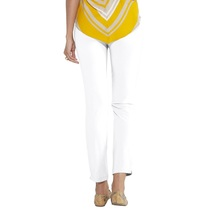 Go Colors-white-tall Knitted Pants