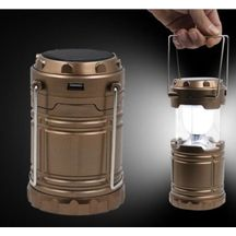 Solar Emergency Light Lantern + Usb Mobile Charging Point, 3 Power Source Solar, Battery, Lithium Battery, Travel Camping Lantern