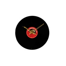 Vinyl Record Wall Clock (no Glass Covering) Recycled Product. Tup015