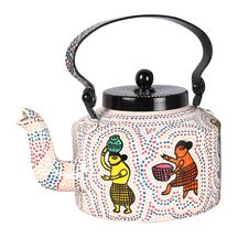 Women Of The World Hand Painted Kettle