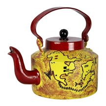 Bhimbetka War Map Hand Painted Kettle