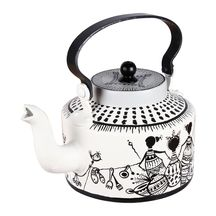 Afro Fiesta Hand Painted Kettle