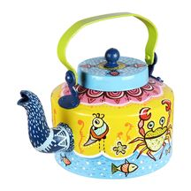 Gond Pond Hand Painted Kettle
