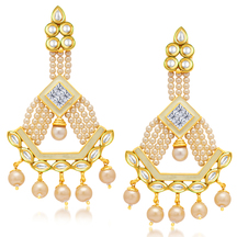 Sukkhi Designer Gold Plated Kundan Earring For Women