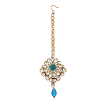 Sukkhi Exotic Gold Plated Ad Mangtikka For Women