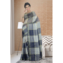 Craftsvilla Multicolor Cotton Plain Traditional Saree Without Blouse Material