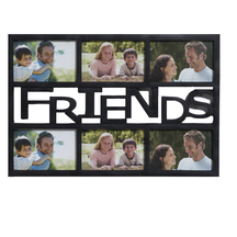 Black Beautiful Collage Photoframe For Friends - Photoframes By Apnorajasthan
