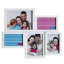 Soothing White Collage Photo Frame - Photoframes By Apnorajasthan