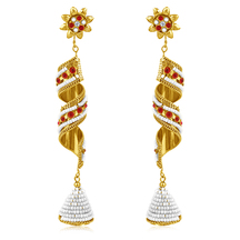 Inaya Best Selling Gold Plated Earring