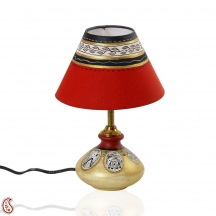 Decorative Hand Painted Terracotta Table Lamp