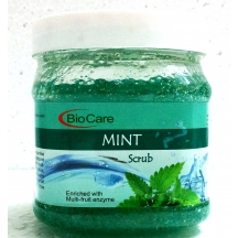 Biocare Mint Gel Scrub Multi Fruit Enzyme