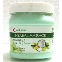 Biocare Herbal Massage Cream With Natural Extracts