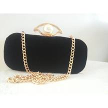 Black And Golden Clutch