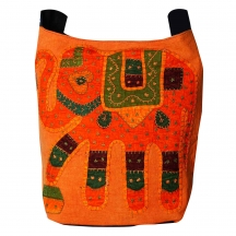 Halowishes Handmade Ethnic Patch Work Multicolor Shoulder Bag 103