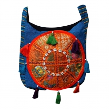 Halowishes Colourful Embroidered Shoulder Bag -105