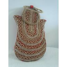 Mobile Pouch For Wedding Lehenga