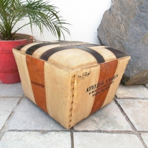 Tapered Pouffe With ...