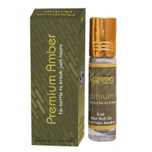 Attar - Roll On - Premium Amber Apparel Concentrated Perfume 8 Ml- By Kazima